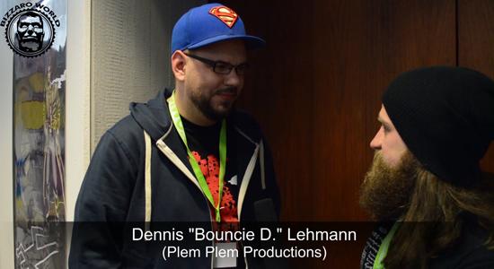 """CSE2016: Im Gespräch mit Dennis """"Bouncie D."""" Lehmann (Plem Plem Productions)"""