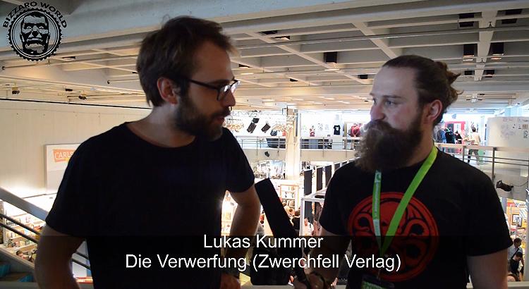 CSE2016: Interview mit Lukas Kummer (Die Verwerfung, Zwerchfell Verlag)
