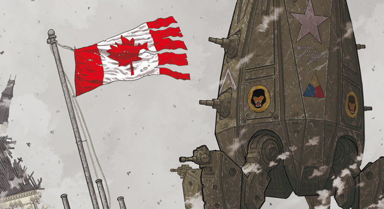 Comic Review: We Stand On Guard (Cross Cult)