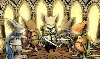 David Petersen veröffentlicht Creator Commentary Video zu MOUSE GUARD: Belly of the Beast (Fall, #01)