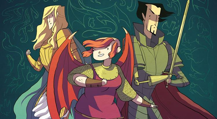 Comic Review: Nimona (Minisplitt / Splitter Verlag)