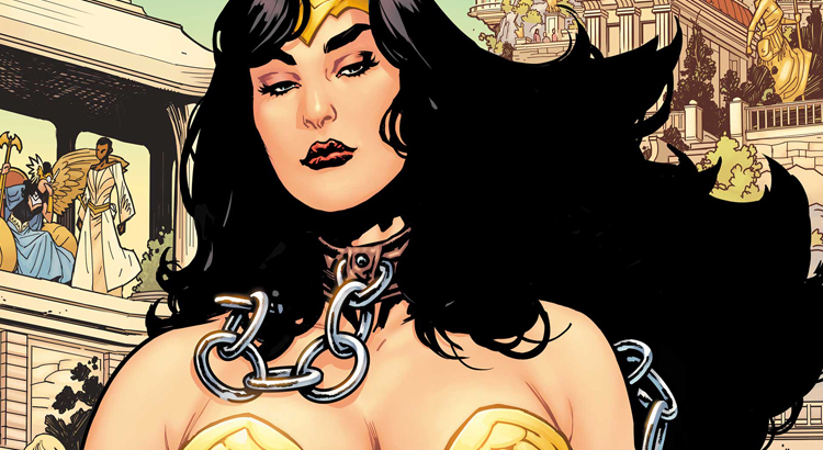 DC Comics kündigen WONDER WOMAN: EARTH ONE Vol. 3 für 2021 an