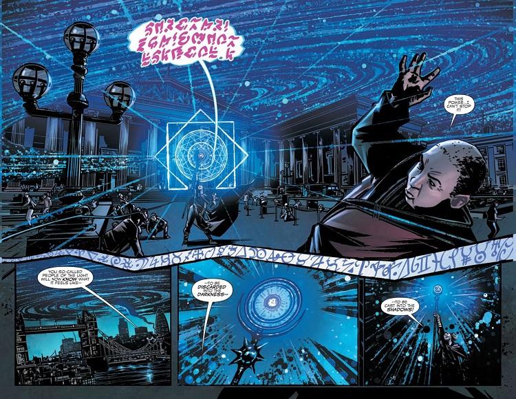 "Auzug aus ""Doctor Strange Prelude"" #01 (Copyright: Marvel)"