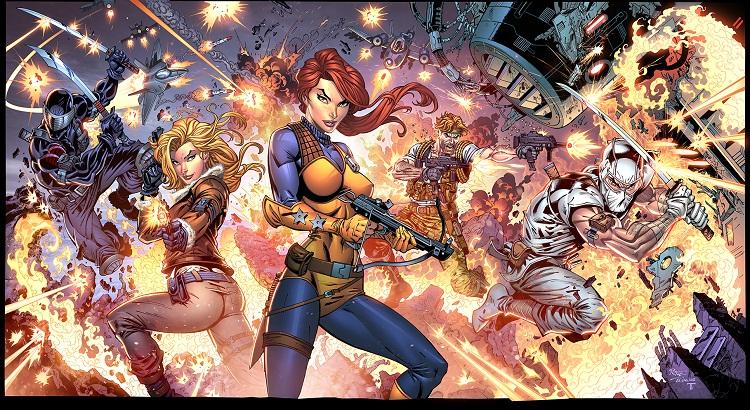 Danger Girl, G.I. Joe und Marvel Zeichner John Royle zu Gast im Comicpark Erfurt (06. bis 07. Mai 2017)