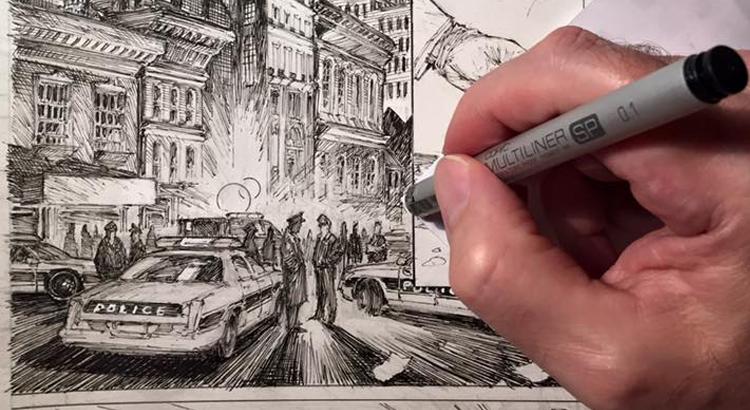 Marc Silvestris langerwartetes BATMAN Comic wird JOKER/BATMAN Team-Up