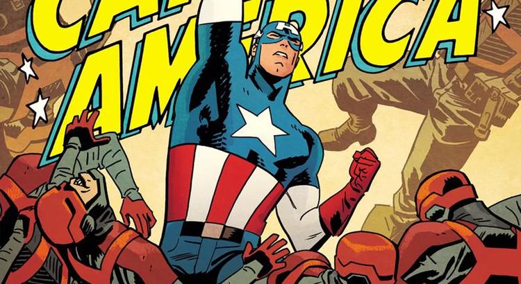 #SDCC: mit der Übernahme von Mark Waid & Chris Samnee - Cap wieder im klassischen Kostüm? Scheinbar ja!