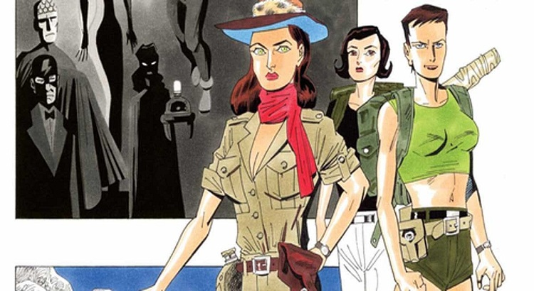 The League of Extraordinary Gentlemen: erste Seite aus Alan Moores & Kevin O'Neills finalem Comic THE TEMPEST geleaked