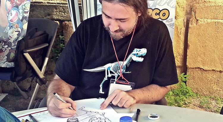 Marvel-Zeichner Marco Failla für eine Woche auf Tour in Deutschland