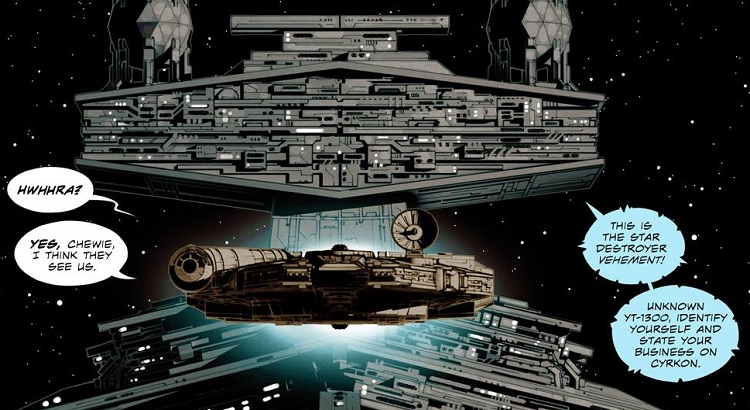 """Ingo Römling zeichnet Comic-Umsetzung von Greg Ruckas STAR WARS Roman """"Smuggler's Run"""""""