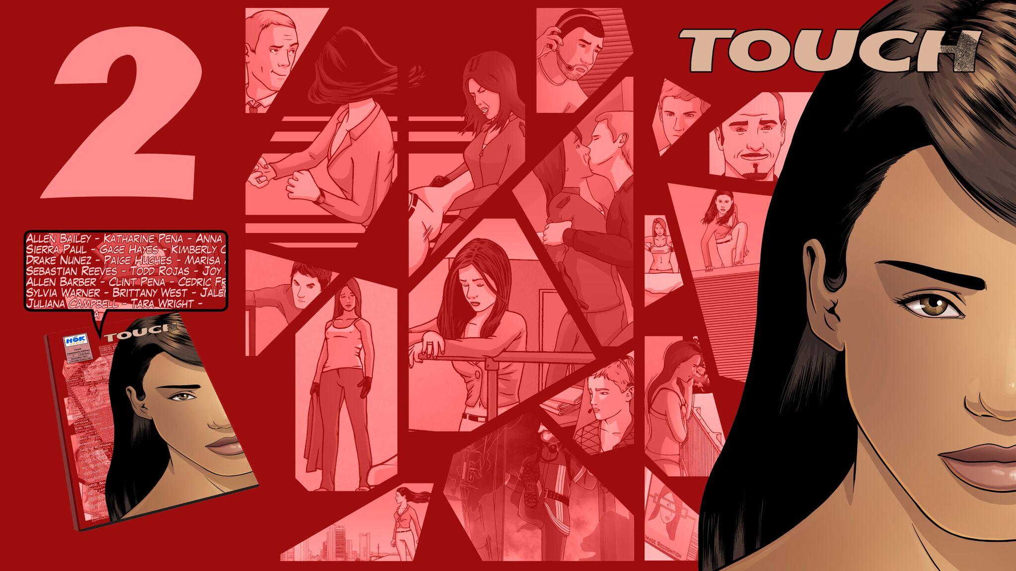 Comic-Künstler HOK mit Ausgabe 2 seiner Comic-Reihe TOUCH auf Kickstarter gestartet