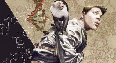 Brian K. Vaughan & Pia Guerra am Set der Y: The Last Man TV-Serie wiedervereint