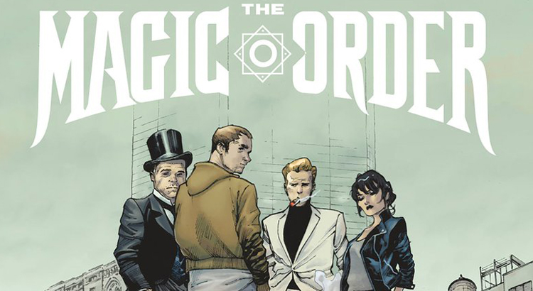 "Mark Millar kündigt neuen Comic in Zusammenarbeit mit Olivier Coipel an: ""The Magic Order"""