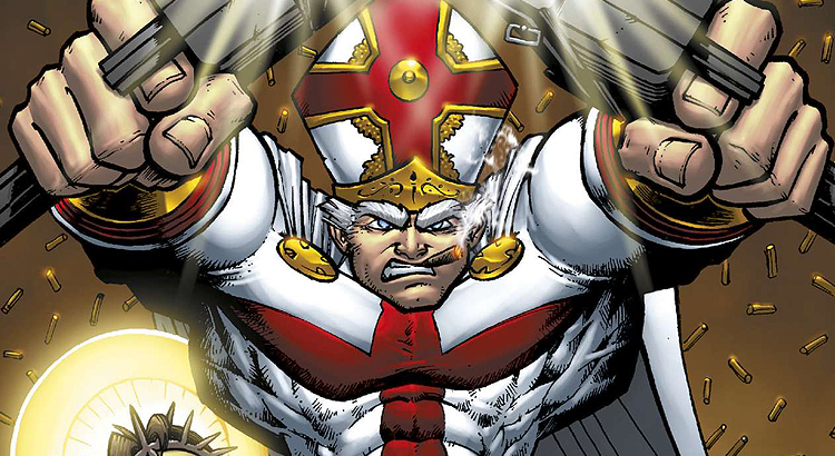 Comic Review: Robert Kirkmans Battle Pope (Cross Cult)