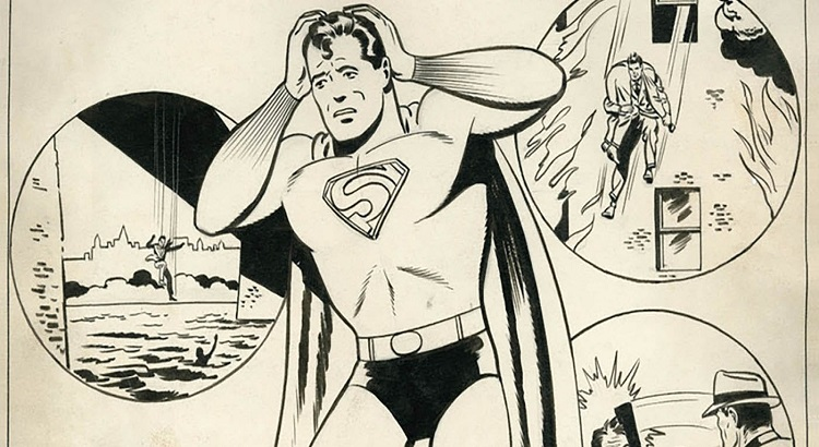 US ACTION COMICS #1000 Hardcover-Edition wird verlorengegangene und wiedergefundene Superman-Story von Jerry Siegel & Joe Shuster enthalten