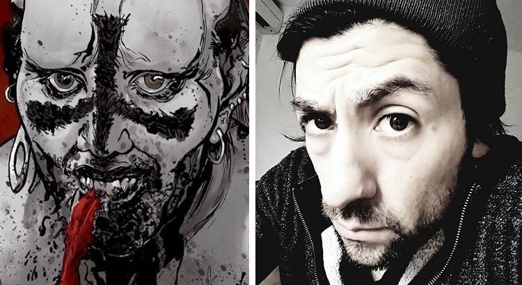 CROSSED-Zeichner RAFAEL ORTIZ Ende Februar für eine Woche auf Signiertour in Deutschland