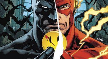 "Panini Comics bringt das Batman/Flash-Crossover ""The Button"" im kommenden November als Paperback"