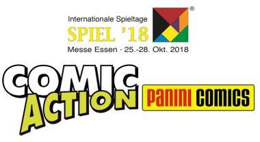 Panini Comics kündigt Gäste und Messe-Specials zur COMIC ACTION 2018 in Essen an