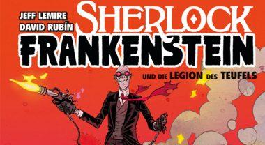Comic Review: Black Hammer - Sherlock Frankenstein & die Legion des Teufels (Splitter Verlag)