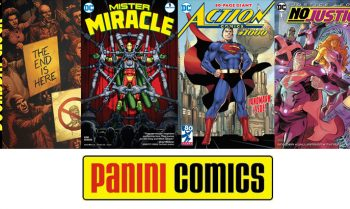 Doomsday Clock, Mister Miracle, Action Comics #1000, Justice League: No Justice - wie sehen die Pläne bei Panini Comics aus?