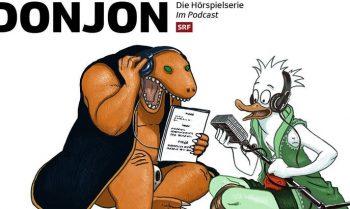 Hörspiele zu Joann Sfars & Lewis Trondheims DONJON Comic nun als Podcast verfügbar