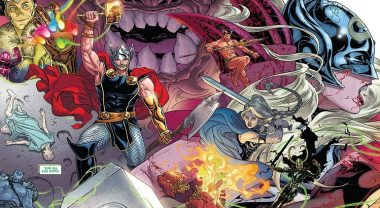 "Jason Aarons ""The War of the Realms"" Thor-Event für 2019 bekommt Kreativteam... und Logo"