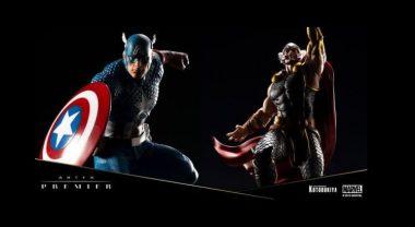 Kotobukiya kündigt neue ARTFX Premier Statuen an - Thor & Cap machen den Anfang