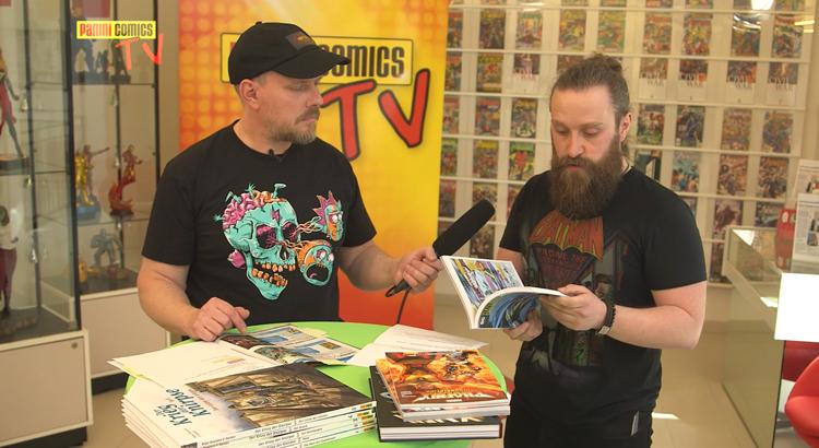 Emu zu Gast bei Panini Comics TV - das Programm im Mai, inkl. Neal Adams Interview