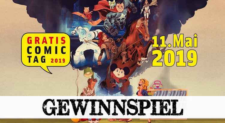 Gewinnspiel: Gratis Comic Tag 2019 - alle 34 Hefte im Set