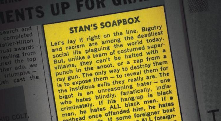 Stan's Soapbox: Stan Lee ist auch nach über 50 Jahren noch aktuell