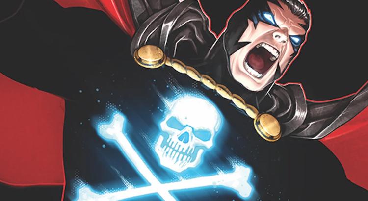 Moon Knight Autor Max Bemis mit BLACK TERROR Comic für Dynamite im Oktober