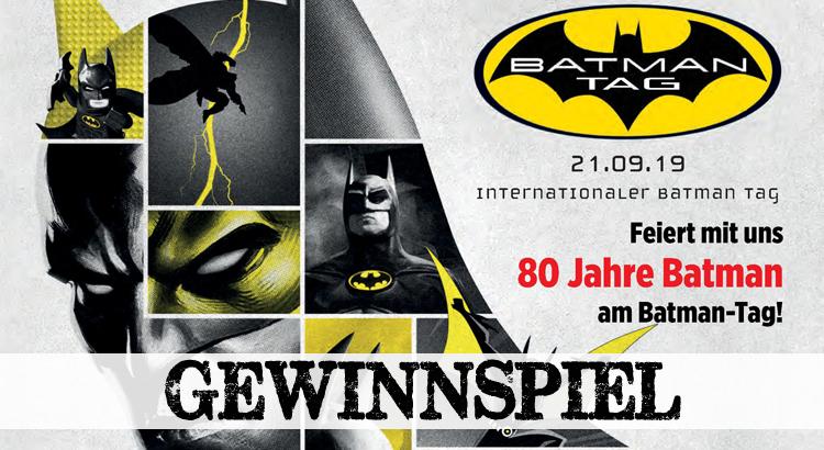 Gewinnspiel zum Batman-Tag 2019: 2x Batman/Joker: Der Mann, der lacht