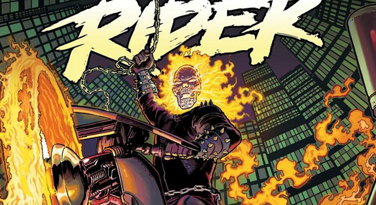Marvel mit Video-Trailer zur neuen GHOST RIDER Comicreihe