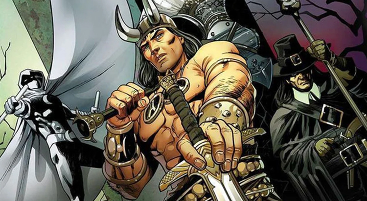 "Conan trifft auf Moon Knight in Marvels ""Conan: Serpent War"" Event"