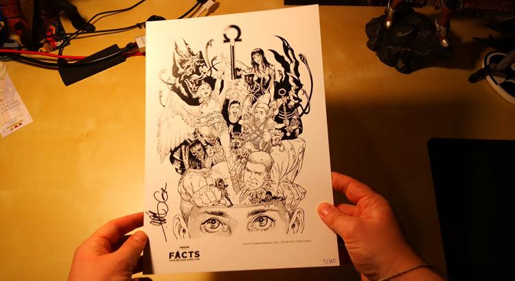 Comic Haul: Art-Print GABRIEL RODRIGUEZ - Locke & Key [Video]