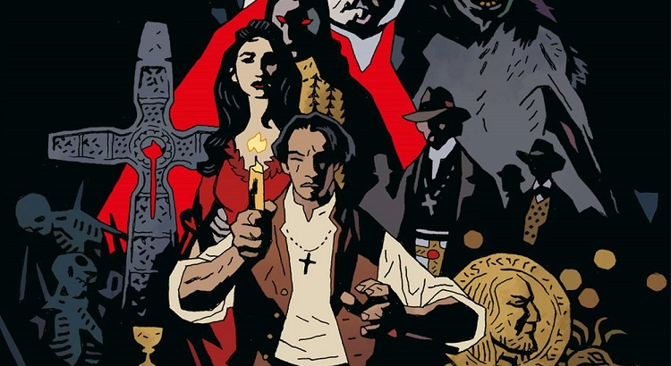 Panini Comics mit Preview zu Mike Mignolas DRACULA Comic
