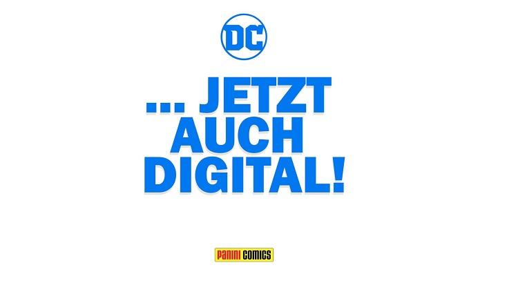 Panini ab jetzt auch mit DC Comics Titeln digital verfügbar!
