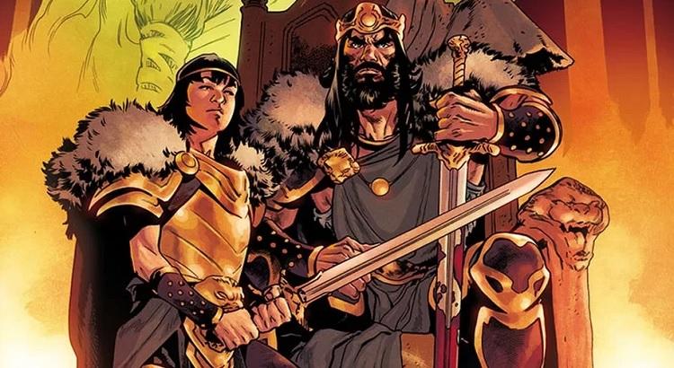 Jason Aaron kündigt KING CONAN Reihe für Marvel an