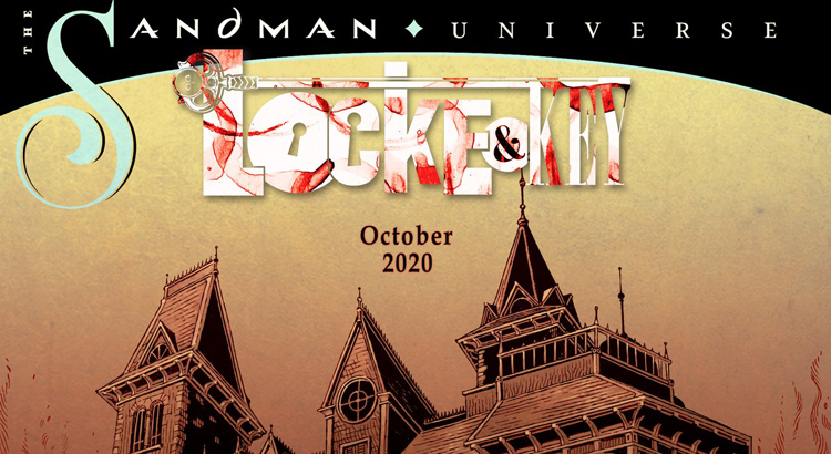 "IDW / DC Comics kündigen ""Locke & Key"" / ""The Sandman Universe"" Crossover an"