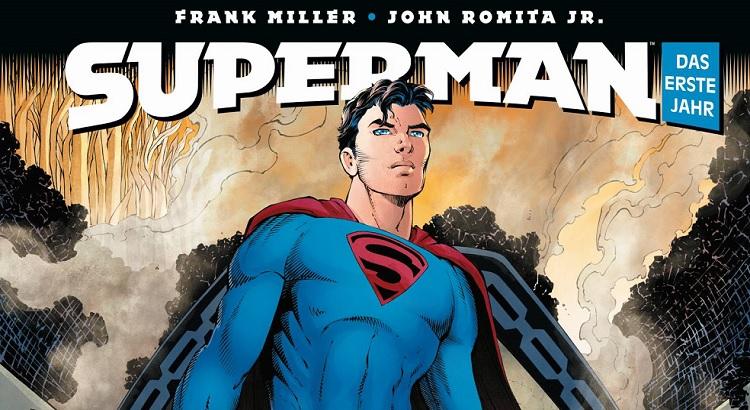 Panini Comics mit Preview zu Frank Millers SUPERMAN: DAS ERSTE JAHR
