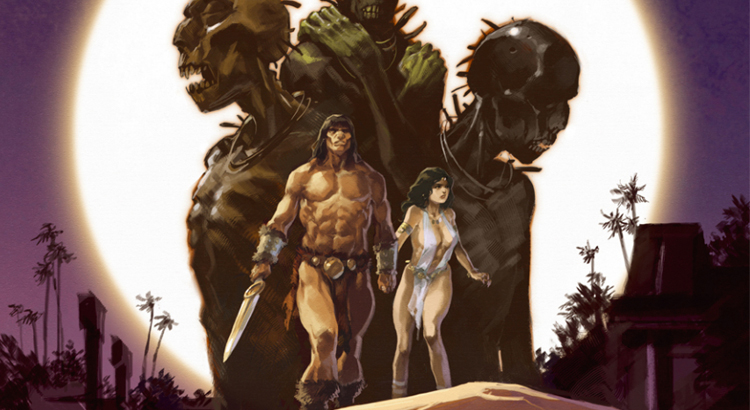 Comic Review: Conan der Cimmerier - Schatten im Mondlicht (Splitter Verlag)