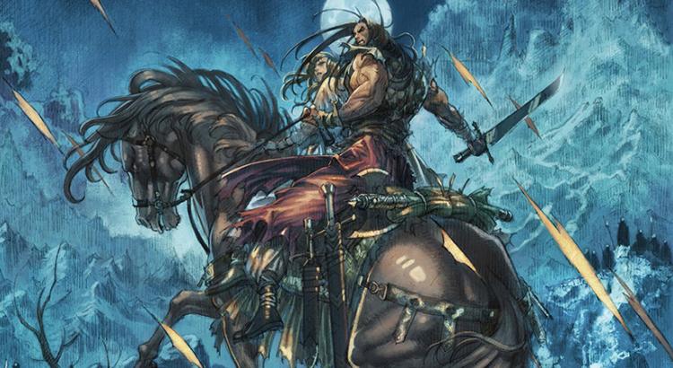 """Splitter Verlag mit Preview zu """"Conan der Cimmerier: Der Schwarze Kreis"""""""