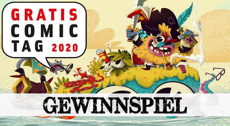 Gewinnspiel: Gratis Comic Tag 2020 - alle 34 Hefte im Set