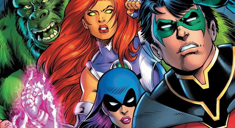 "Panini Comics mit Preview zu Dan Jurgens' & Scot Eatons ""Titans: Burning Rage"""