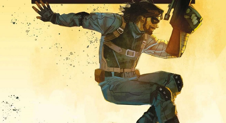 Panini mit Preview zur WINTER SOLDIER Mini-Serie von Kyle Higgins & Rod Reis