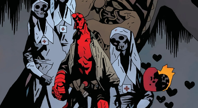 "Mignola & Hughes mit ""Hellboy: The Seven Wives Club"" One-Shot im November"