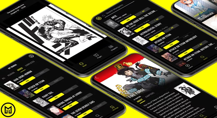 Sony investiert in Manga-Abo-App Mangamo