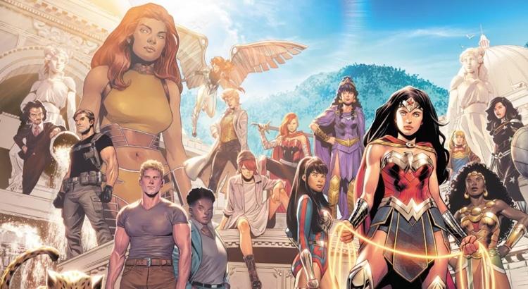 DC Comics gibt erste Kreativ-Teams & Titel für Post-Future-State-Phase bekannt