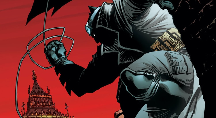 Tom Taylor & Andy Kubert mit BATMAN: THE DARK KNIGHT Mini-Serie ab April