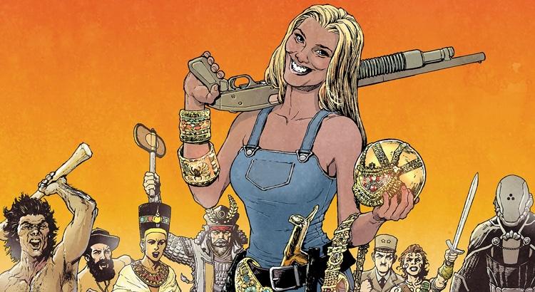 Garth Ennis & Goran Sudžuka mit neuem Creator-Owned-Comic für AWA Studios