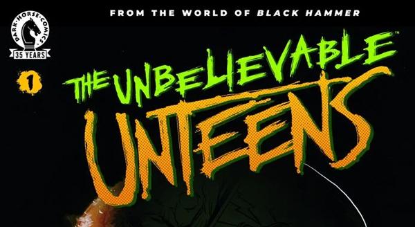 """Dark Horse kündigt neues BLACK HAMMER Spin-off an: """"The Unbelievable Unteens"""""""